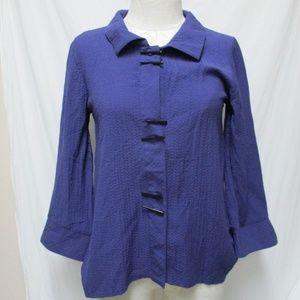 Habitat Asian Inspired Tunic blouse top Sz XS
